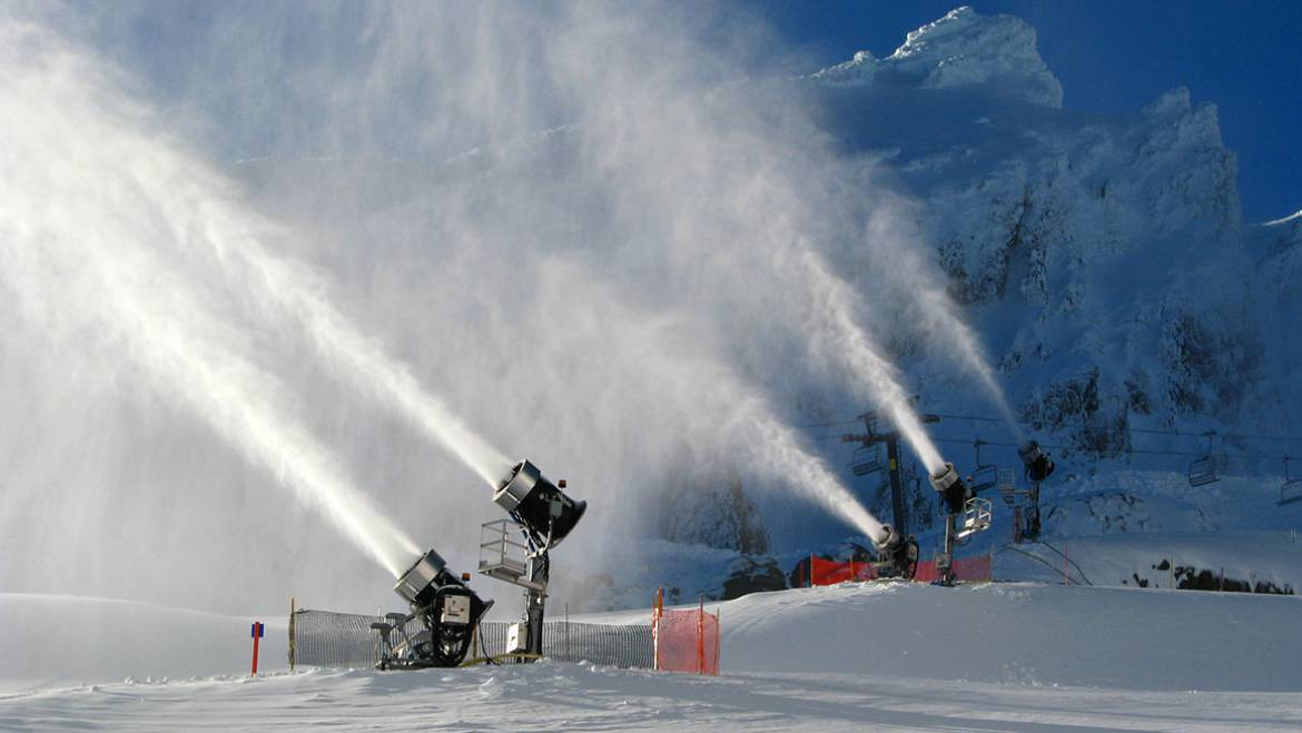 The Snowmaking Process on Mammoth Mountain