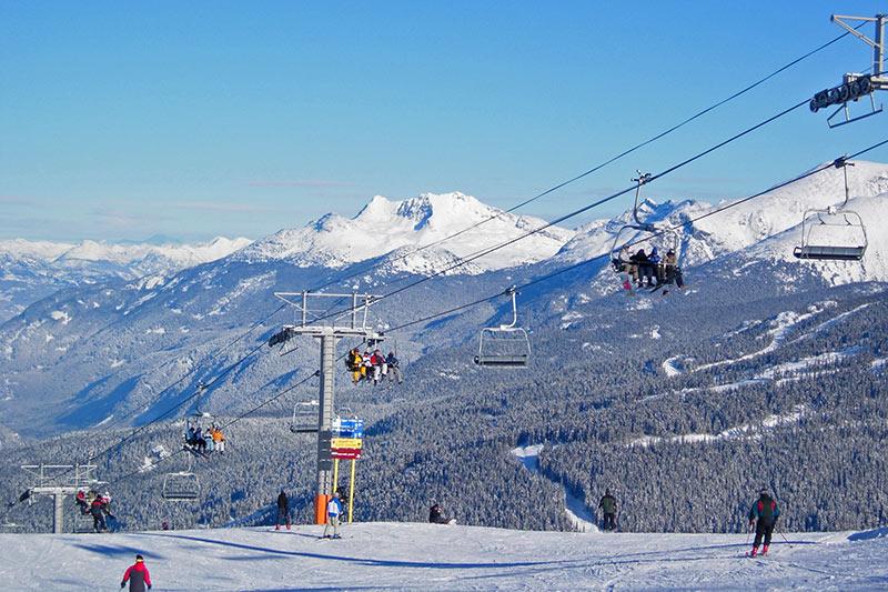 mammoth mountain snowboard rentals view lift mountain