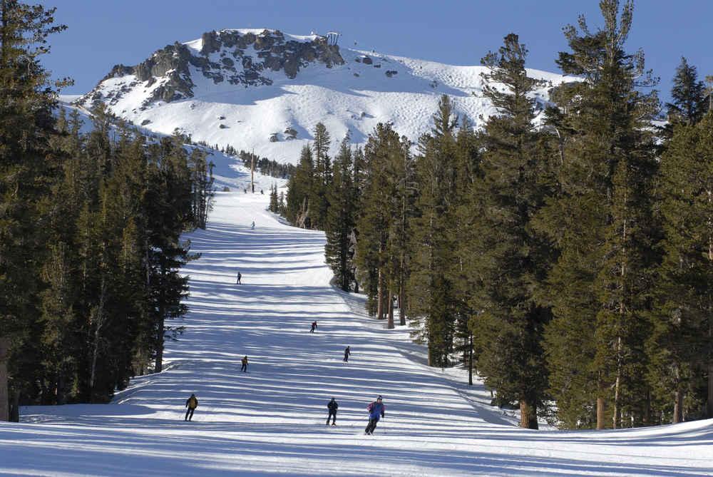 mammoth mountain snowboarding Beginner Trail