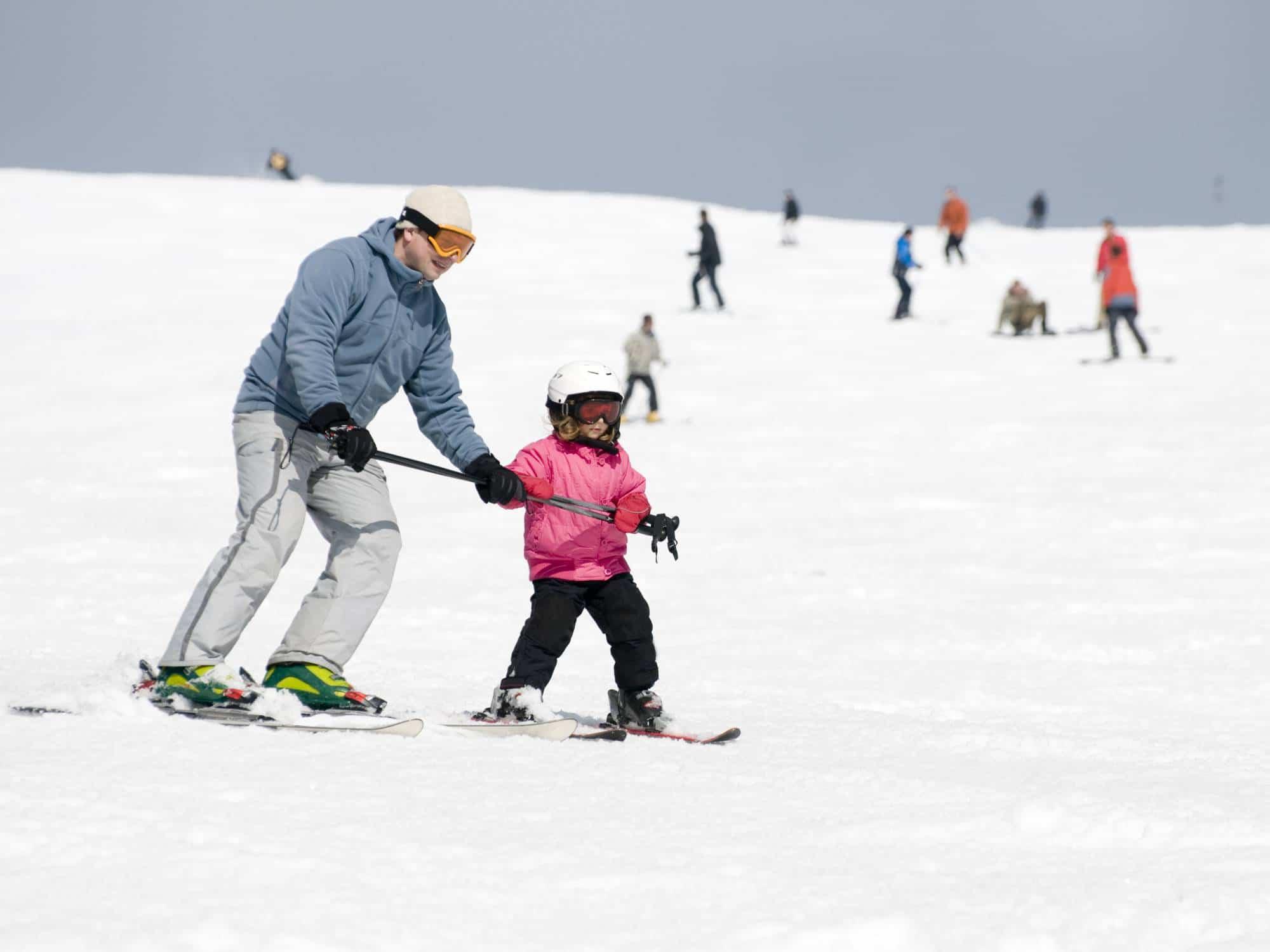 Skiing in Mammoth
