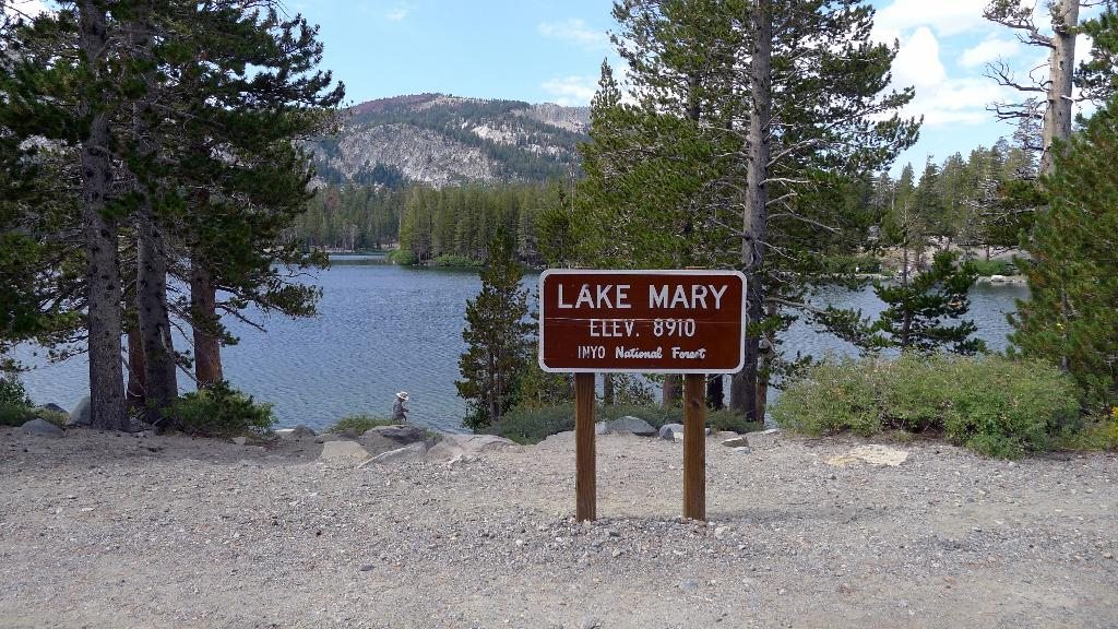 Camp At Lake Mary For The Best Fishing Experience At Mammoth Lakes. Photo any Lake Mary Marina