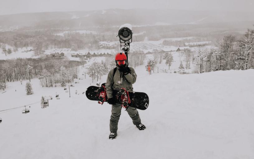 Essential Snowboard and ski gear