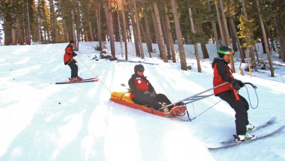 Where to find Mammoth Mountain Ski Patrol Stations