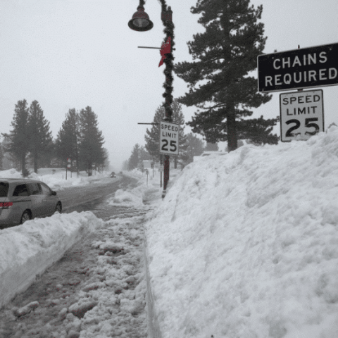 mammoth road conditions