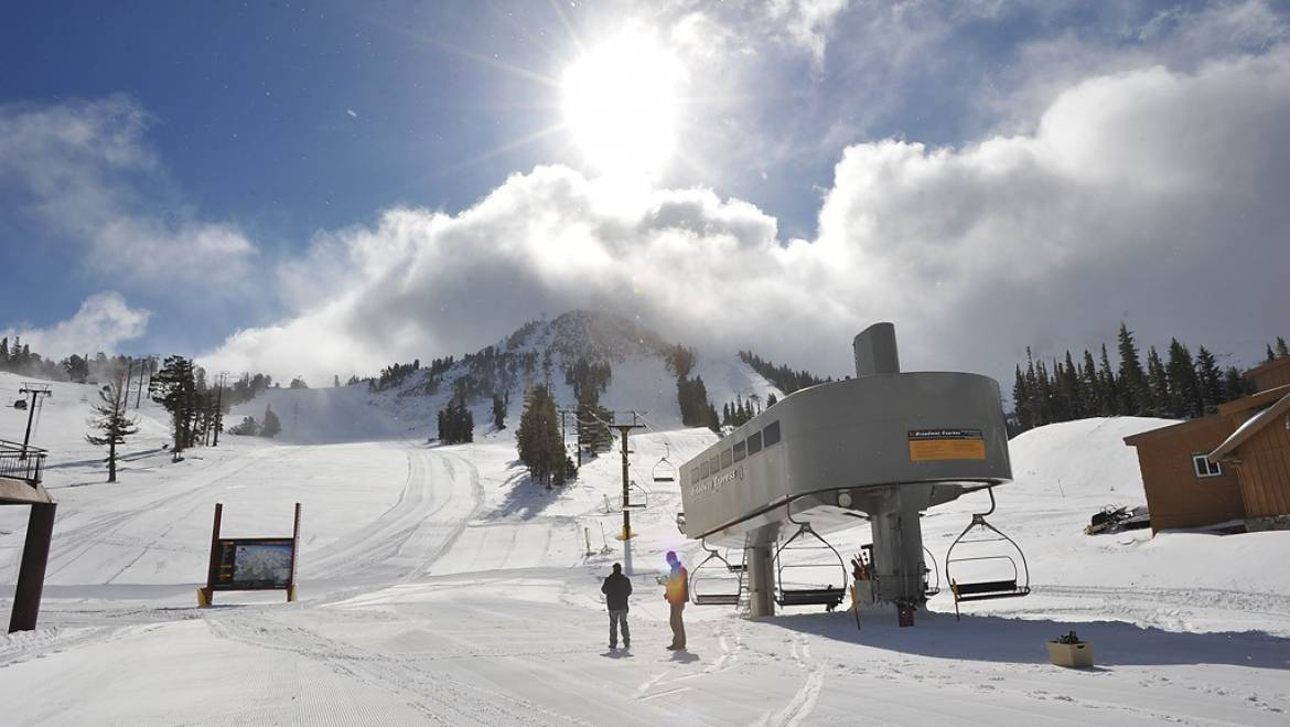 mammoth lakes weather today