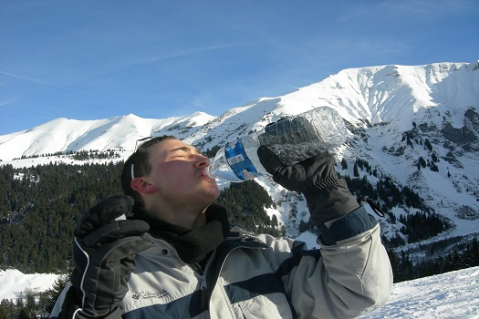 How to Remain Hydrated while Skiing in Mammoth Lakes, CA