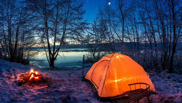 camping in mammoth