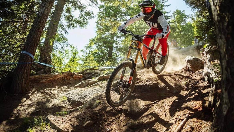 Mountain Biking Steve Walton team ASO Mammoth