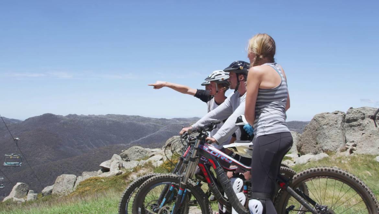 biking at high elevation mammoth lakes