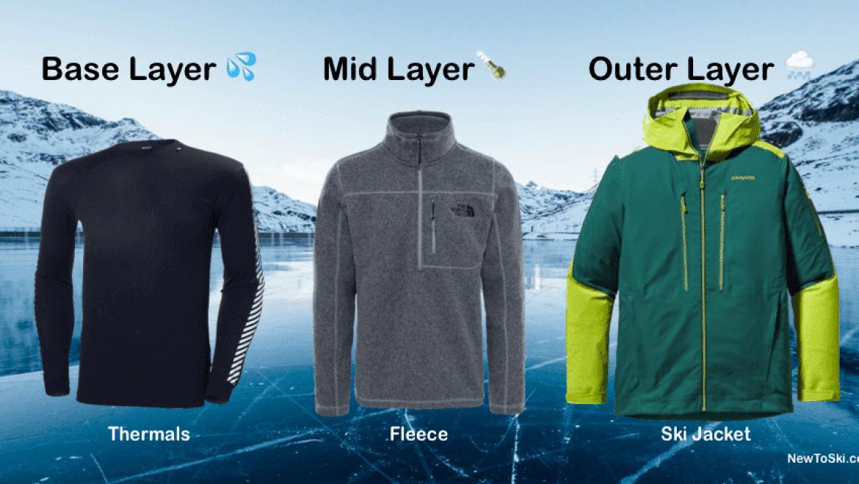 ski layers clothing mammoth