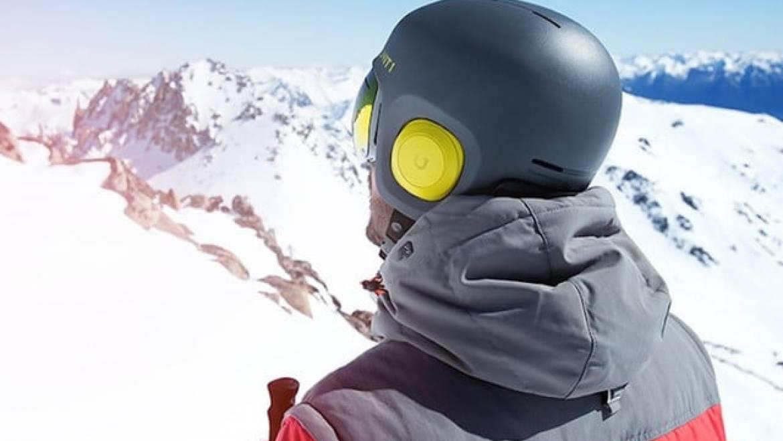 snowboard helmet with speakers mammoth