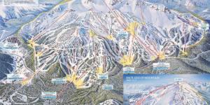 Mammoth Mountain Winter Trail Maps