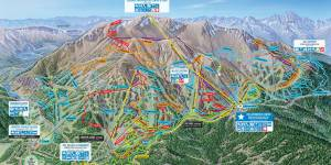 Mammoth Biking trail maps
