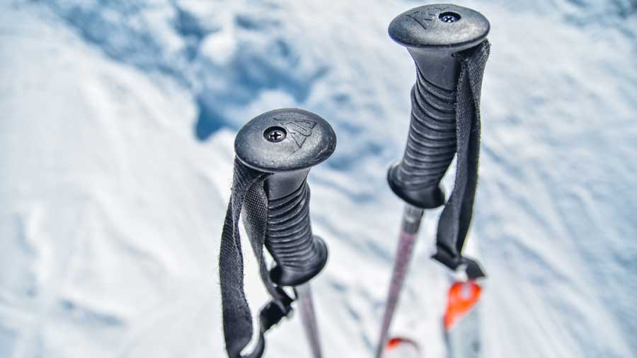 Need for skiing poles