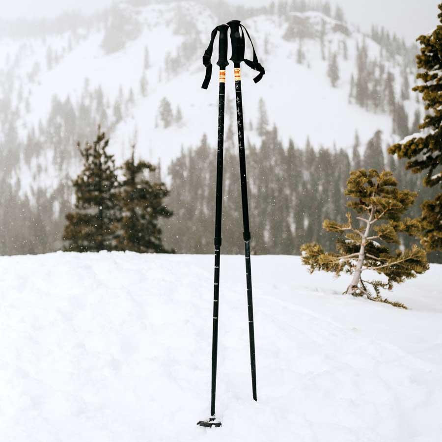 Ski without poles