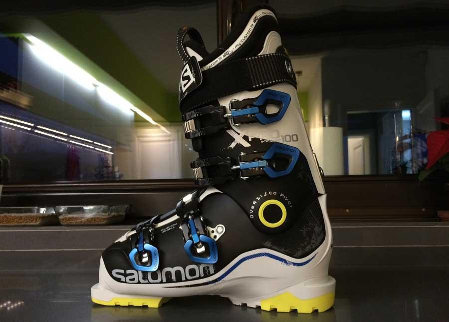 break in new ski boots