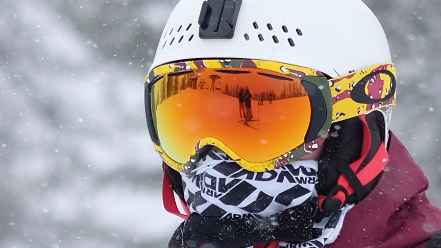 ski helmet google gap