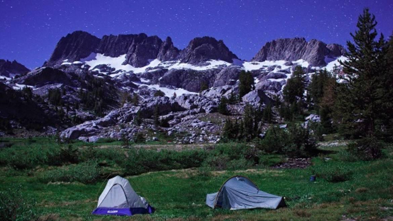 Camping at mammoth
