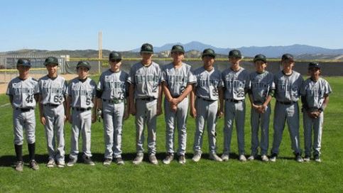 Chino Hills Dirt Dawgs Baseball Team