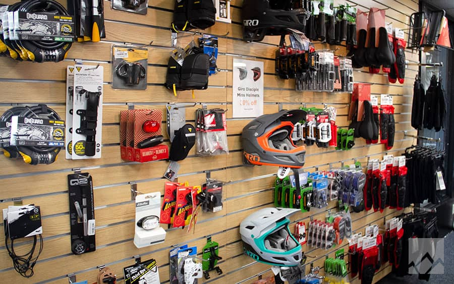 Biking Gear in mammoth Lakes