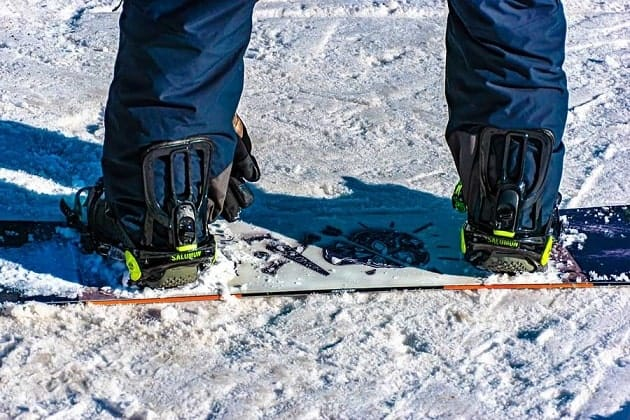 Snowboard Bindings and Gear
