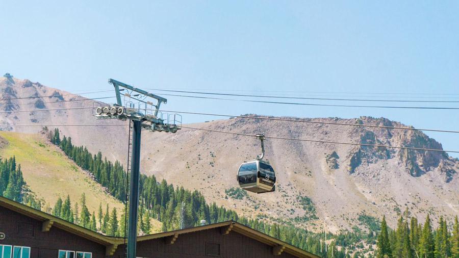 Gondola Ride in Mammoth