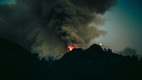 Wildfire Smoke in Mammoth Lakes