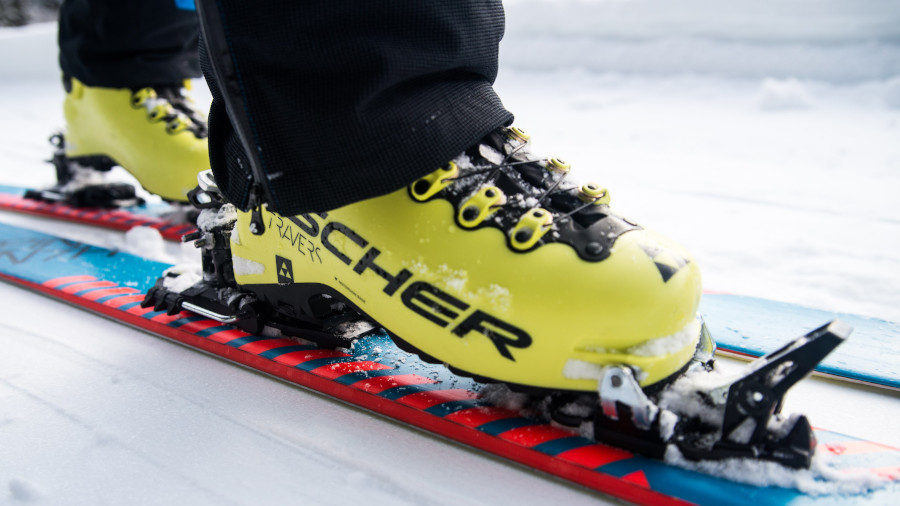 Fischer ski boots in action