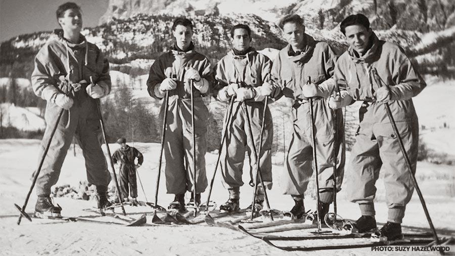 mammoth dave mccoy vintage skiing