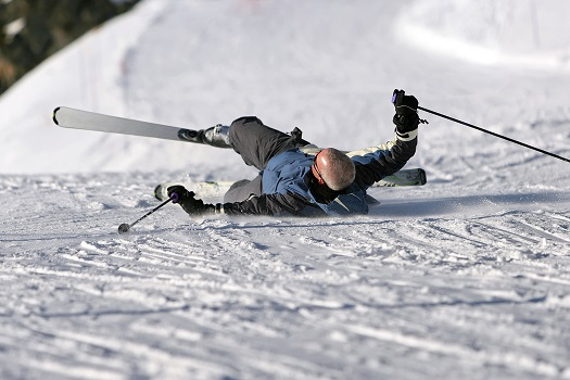 mammoth Skiing Accident